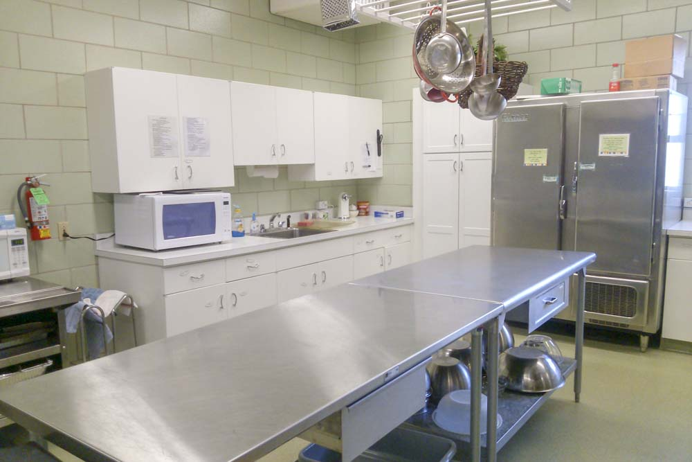 Fellowship Hall - Kitchen