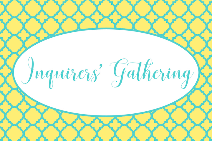 Inquirers-Gathering
